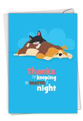 Doggone Awesome Notes, Printed Anniversary Note Card - C6586HANG