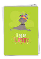 C6586ICG - Doggone Awesome Notes: Paper Card