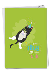 C6558ABD - Catty Cards: Printed Card