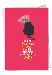 C6558BGW - Catty Cards: Greeting Card