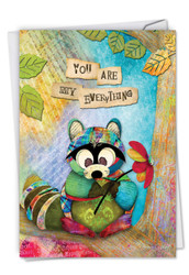 Forest Friends, Printed Anniversary Greeting Card - C2952FANG