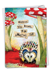 C2952GGD - Forest Friends: Printed Card