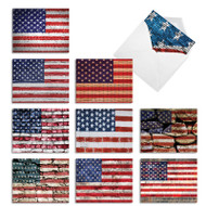Flag Day, Assorted Set Of Mini Thank You Greeting Cards - AM2013TYG