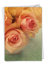Full Blooms, Printed Sympathy Greeting Card - C6553ISMG