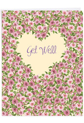Heartfelt Thanks, Jumbo Get Well Greeting Card - J6578HGWG