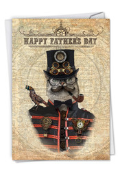 C6554AFD - Steampunk Cats: Paper Card