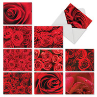 M3088VD - Roses Are Red: Assorted Set of 10 Cards