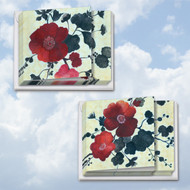MQ4567TY - Heartfelt Blooms: Square-Top Mixed Set of 12 Cards