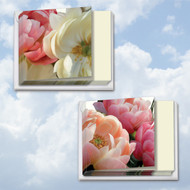 MQ4606TY - Peony Passion: Square-Top Mixed Set of 12 Cards