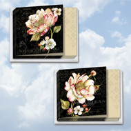 Botanica, Assorted Set Of Mini Square-Top Sympathy Note Cards - AMQ4610SMG