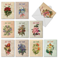 Flower Press, Assorted Set Of Mini Get Well Note Cards - AM6454GWG