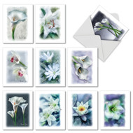 M6598ST - Blooming Memories: Assorted Set of 10 Cards