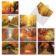 M4971OC - Fall Foliage: Mixed Set of 10 Cards