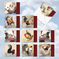 MQ4940OC - General Tso's Chicken: Square-Top Mixed Set of 10 Cards