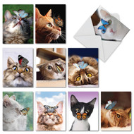 On The Nose, Assorted Set Of Mini Blank Greeting Cards - AM4947OCB