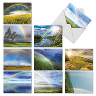 Rainbow Bright, Assorted Set Of Mini Thank You Note Cards - AM4963TYG