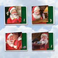 ACQ4943XS - Santa Mouse: Square-Top Mixed Set of 12 Cards