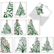 M5019 - Just Fir You: Assorted Set of 10 Cards