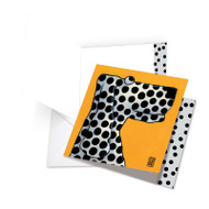 JQ4976ABD - See Spot Smile: Square-Top Over-sized Greeting Card
