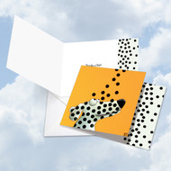 CQ4976BTY - See Spot - Dots: Square-Top Greeting Card