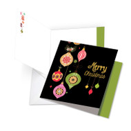 JQ4177DXS - Retro Groovy Greetings: Square-Top Over-sized Paper Card