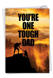 C5402FD - One Tough Dad: Paper Card