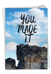 C5499CG - You Made It: Greeting Card