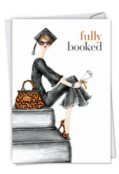 C5519GD - Fully Booked: Printed Card
