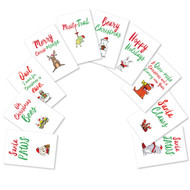 A5550XS - It Was The Pun Before Christmas - Dog: Assorted Set of 10 Cards