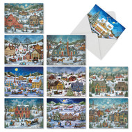 M5080TY - Old Town: Assorted Set of 10 Cards