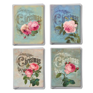 M5156XS - Christmas Roses: Assorted Set of 12 Cards