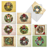 M2942XT - Succulent Wreaths: Assorted Set of 10 Cards