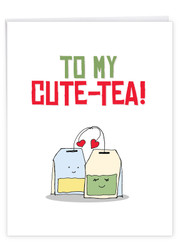 J5659IVD - Yummy Puns: Large Note Card