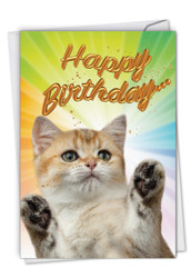 C6112IBD - Cat-Sent Greetings: Greeting Card