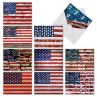 Flag Day, Assorted Set Of Mini 4th of July Note Cards - AM2013FJG