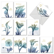 AM6221ST - Blooming Expressions: Mini Assorted Set of Cards