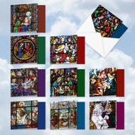 AMQ6127XS - A Star Is Born: Mini Square-Top Assorted Set of 10 Cards