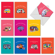 AM6413OC - Happy Campers: Mini Mixed Set of 10 Cards
