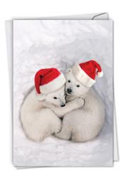 C6327CXS - Bear Hugs: Printed Card