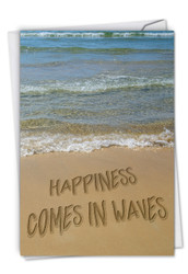 C6328AOC - Life's a Beach: Greeting Card