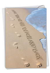 C6328EOC - Life's a Beach: Greeting Card