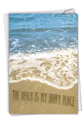 C6328FOC - Life's a Beach: Printed Card