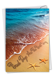 C6328HOC - Life's a Beach: Note Card