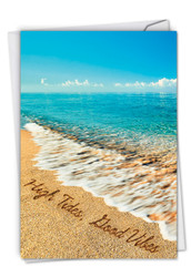 C6328JOC - Life's a Beach: Printed Card
