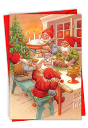 C6440BXS - Gnome for the Holidays: Printed Card