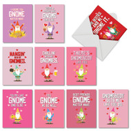 AM6441VD - Friendly Garden Gnomes: Mini Assorted Set of 10 Cards