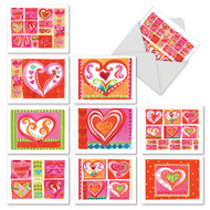 Art Hearts, Assorted Set Of Mini Mother's Day Greeting Cards - AM6725MDG