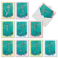 AM6824OC - Mermaid Quotes: Mini Mixed Set of 10 Cards