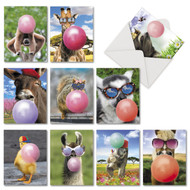 AM6837BD - Balloon Animals: Mini Assorted Set of 10 Cards