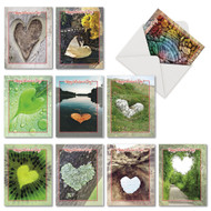 Heartscapes, Assorted Set Of Mini Blank Greeting Cards - AM6838VDB